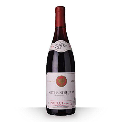 Poulet Père et Fils 2012 Rouge 75cl AOC Nuits-Saint-Georges: Vin Tranquille Rouge Nuits-Saint-Georges