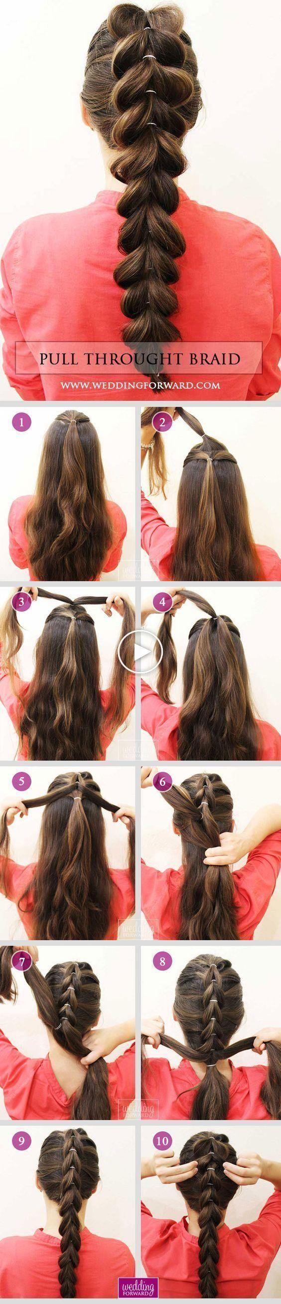 EASY 5 MINUTES CLEAN HAIR STYLE IDEAS FOR WOMEN – casa