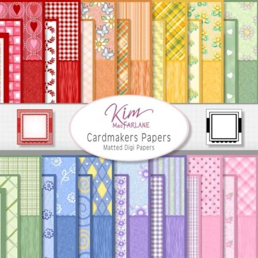 Kim's Digi Papers - Card Makers