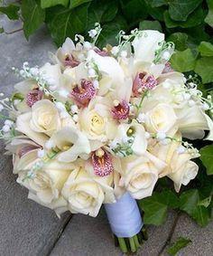 fotos de ramos de rosas hermosas blancas