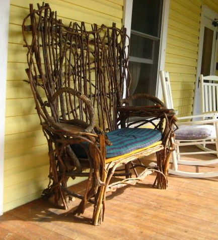 twig furniture....ive always wanted to do this