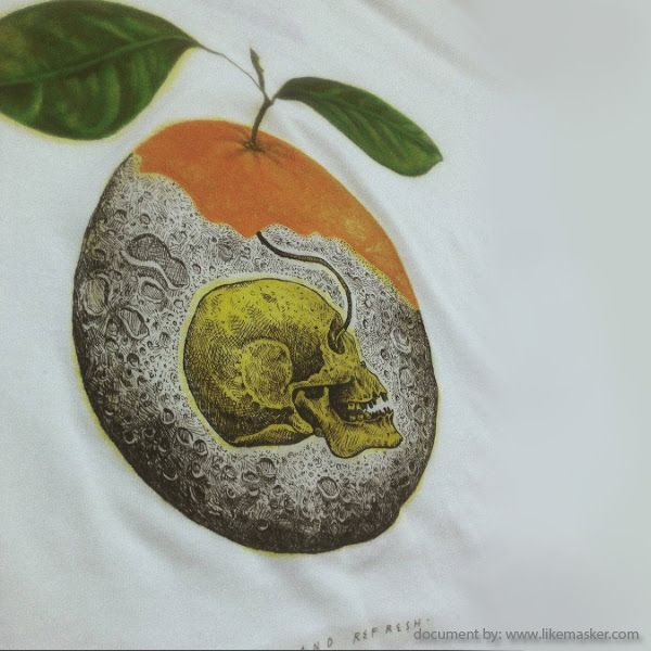 FreeHandFlux, Painting Surrealism in t-shirts