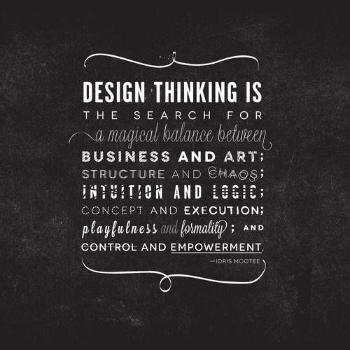 Design Thinking is