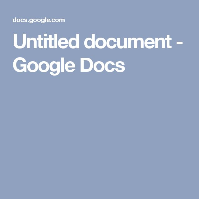 untitled document google docs Create a new document and edit with others at the same time – from your computer, phone or tablet get things done with or without an internet connection.