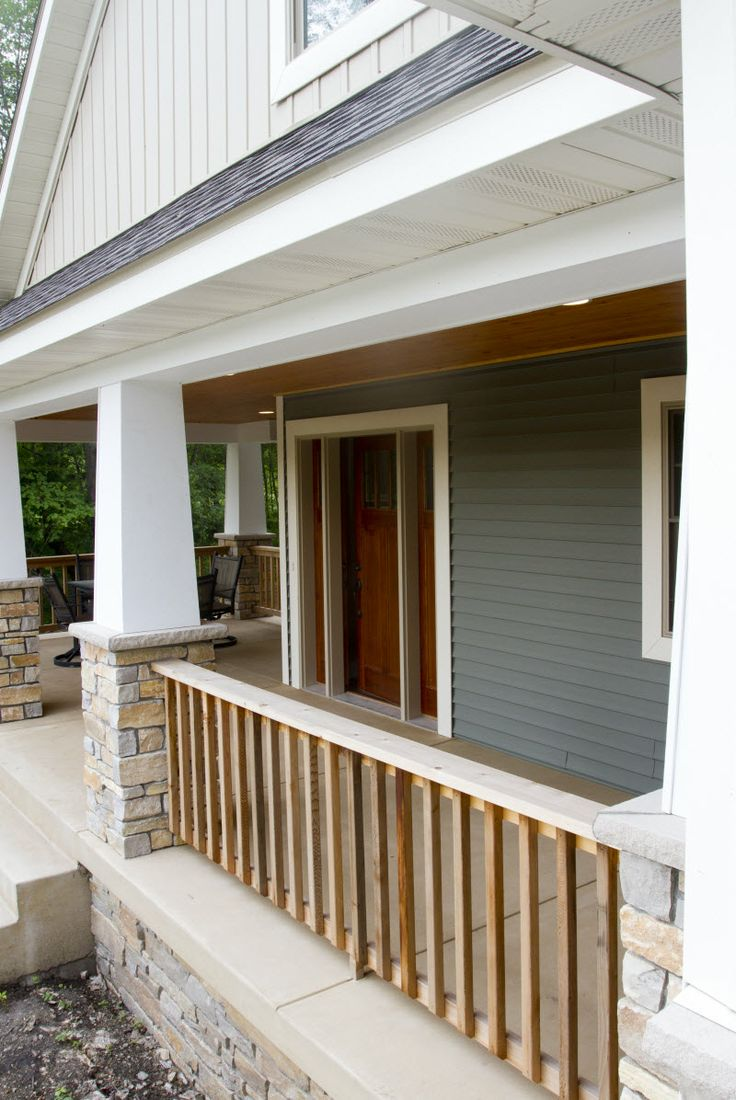 Exterior columns white square tapered columns sitting for Square porch columns