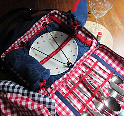 die Picknicktasche