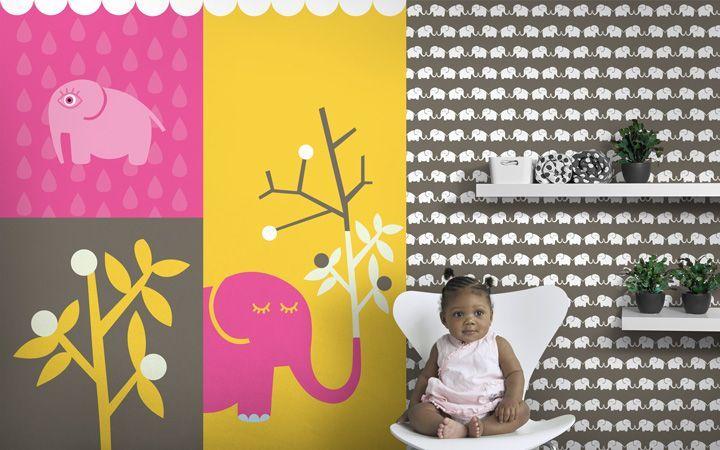 kolekce Elephants, for her - designové tapety DecorPlay