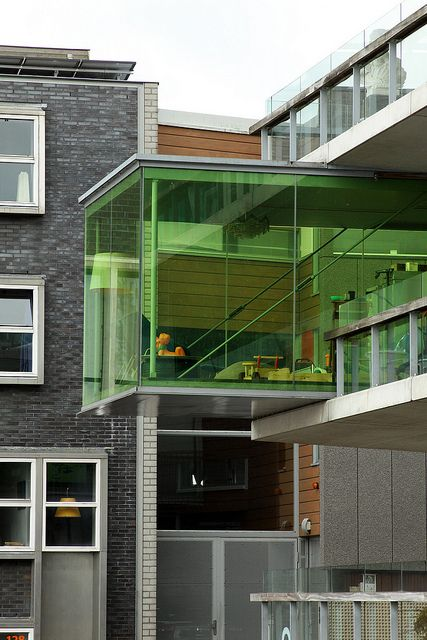 Apartment at the end of Borneo Island, Amsterdam by Asli Aydin
