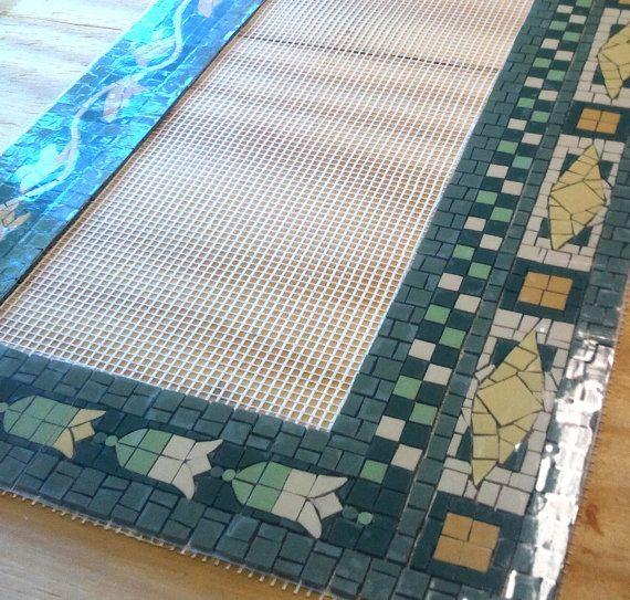 Pre-made NYC Style Subway Mosaic Tile Install for Bathroom  /  Kitchen  /  Backsplash / Floor - New York City