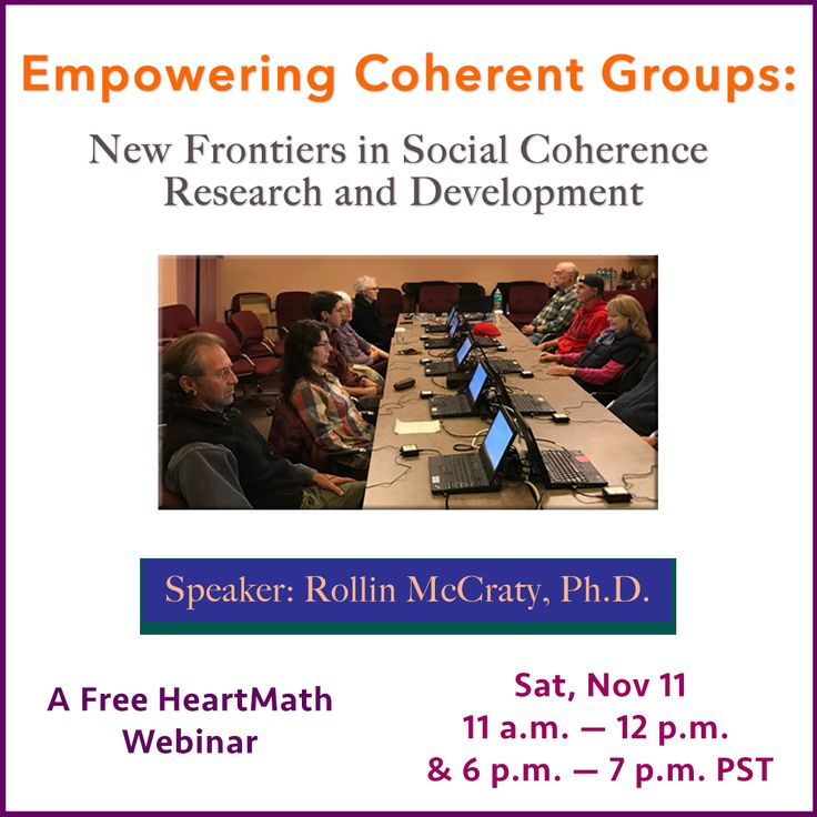 79 best heartmath institute news stories and events images on empowering coherent groups new frontiers in social coherence research and development webinar heartmath institute fandeluxe Images
