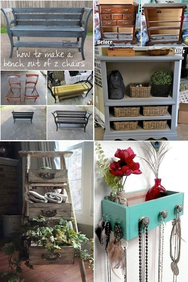 Repurposing Ideas Old Furniture Old Home Furniture Furniture