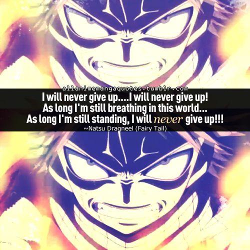 Natsu Dragneel Quotes. QuotesGram