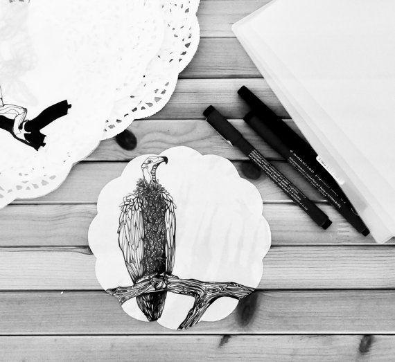Avvoltoio by AIRAMINK on Etsy