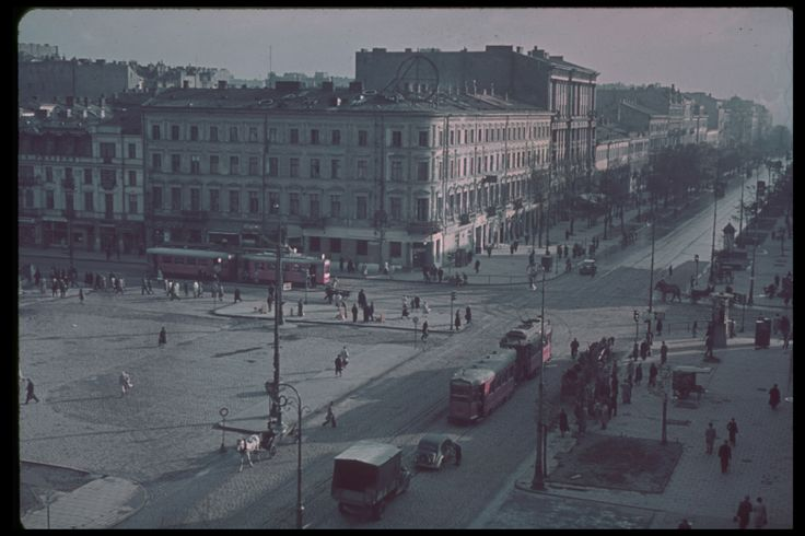 Old Picz   Invasion of Poland in colored photos, 1939