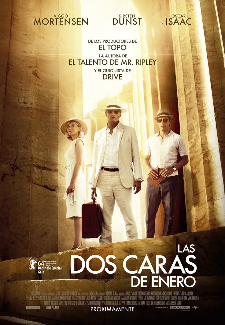 2014 - Las dos caras de Enero - The two faces of January - tt1976000