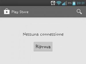 """Google Play """"Nessuna connessione, Riprova"""" come risolverlo, guida e Fix"""