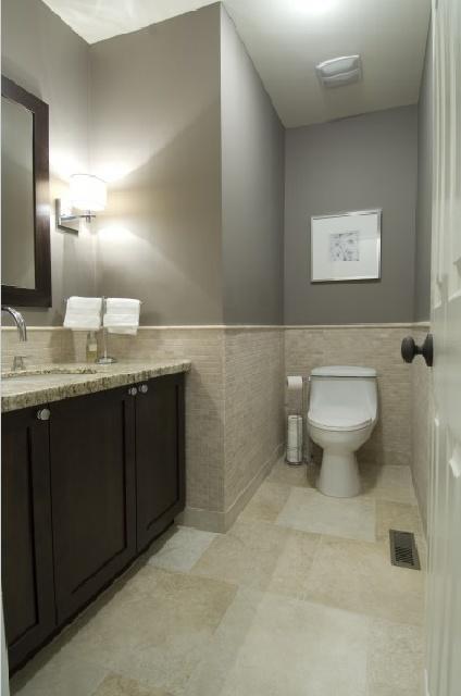 interior bathroom no window