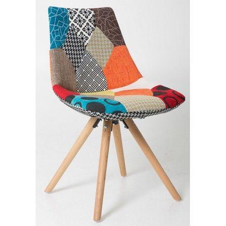 Chaise en patchwork Keya - Depot design