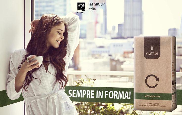 Regalati il piacere di essere sempre in forma, Aurile Metabolism accelera il tuo metabolismo per aiutarti a sentirti sempre bella!  #FMGroupItalia #coffee #caffè #aurile #caffèfunzionali #metabolism #diet #wellness
