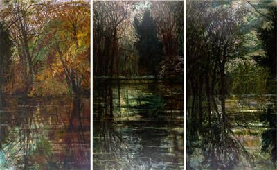 Changing Landscapes (Triptych) Victoria Crowe