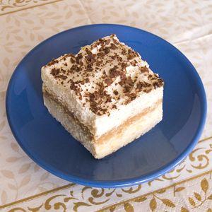 veggieola: Krówka, szybkie ciasto bez pieczenia
