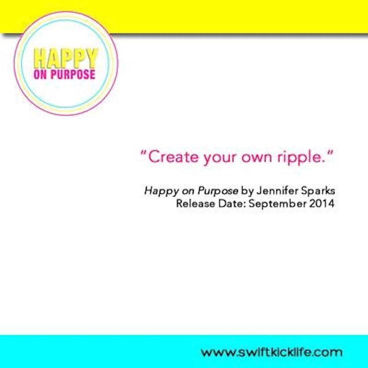 How can you start your own ripple?