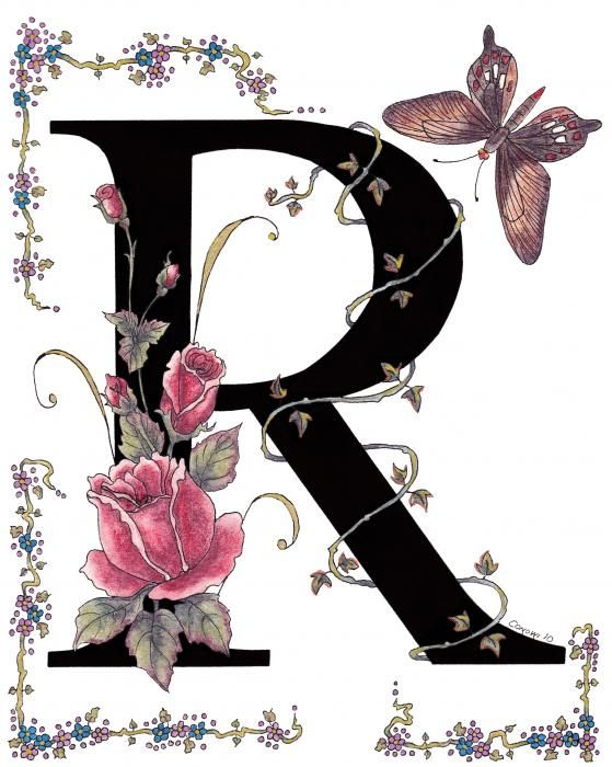 R  is for red roses and a Rose Swallowtail butterfly  Red roses are a  symbol for romantic love and Valentines I loved creating this letter. 17 Best images about The letter  R  on Pinterest   Typography