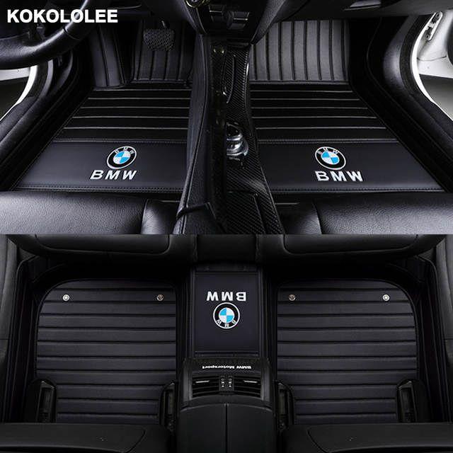 Online Shop Kokololee Custom Car Floor Mats For Bmw 3 5 7 Series E46 E39 E90 E60 E36 F30 F10 F20 E30 E53 X1 X3 Custom Car Floor Mats Car Floor Mats Custom Cars