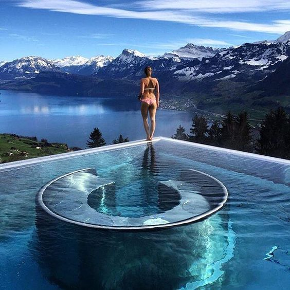 Image result for Stairway to heaven at Villa Honegg, Switzerland.