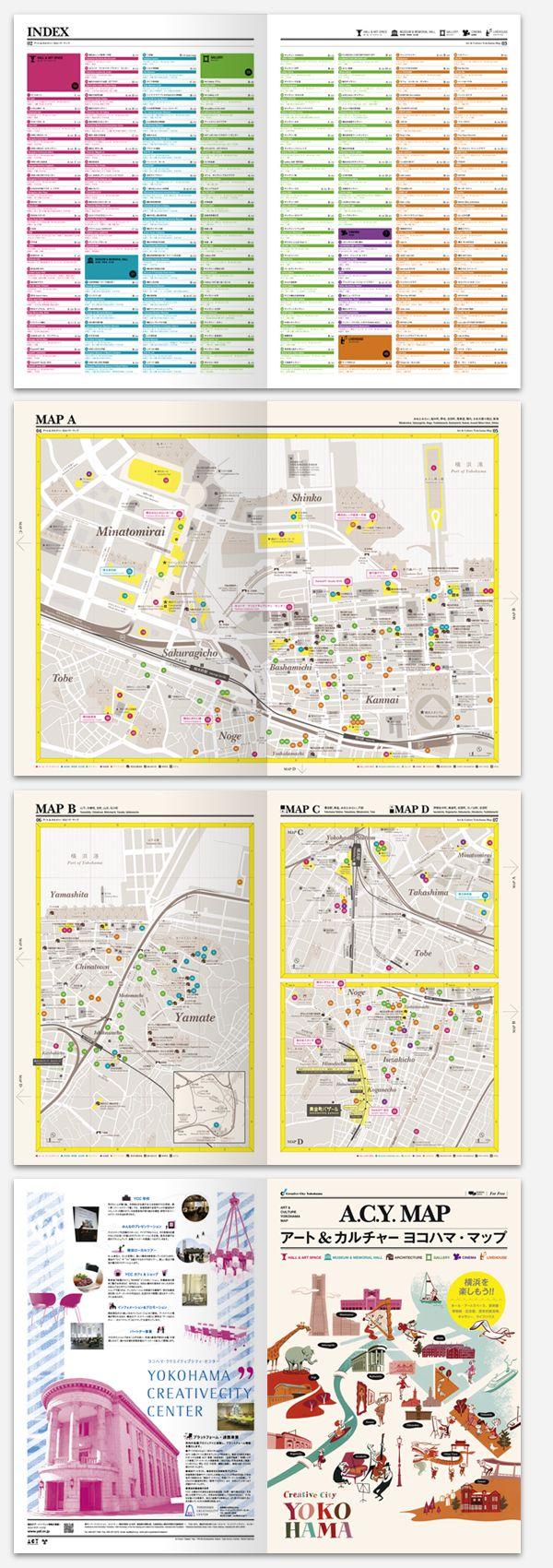 Yokohama Creative City map and guide