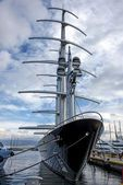 Mega πολυτελές μηχανοκίνητο σκάφος — Φωτογραφία Αρχείου #63138369