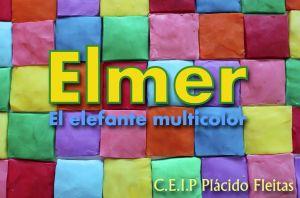 Elmer, el elefante multicolor.