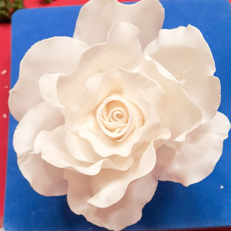 Gumpaste rose, flower, şeker çiçekler, fondant, şeker hamuru, kekperest, cake topper, handmade, sugar figurine