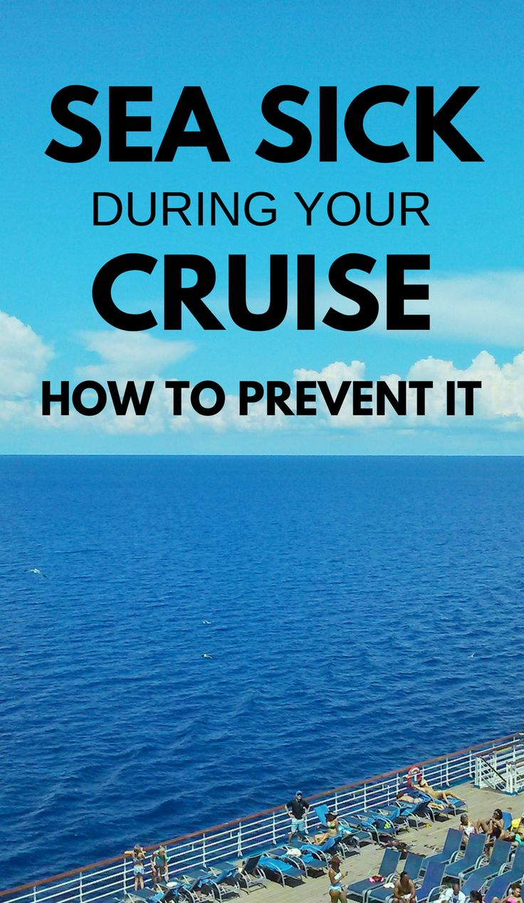 Cruise tips: How to prevent seasickness on a cruise. Things to wear and things to eat that can help with and be remedies for motion sickness and seasick on the cruise ship or on a shore excursion boat. Also what cabins and staterooms are the best to avoid seasickness and getting sea sick. Food and snacks, ginger candy natural remedies for nausea, ear patches, wristbands. Add to checklist of cruise packing list for what to pack for a cruise! #cruise #cruisetips