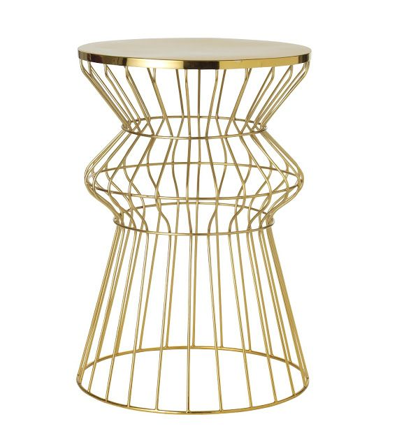 Gold wire side table wire center 57 best tables images on pinterest occasional tables accent rh pinterest com gold wire side table uk target gold wire side table keyboard keysfo Image collections