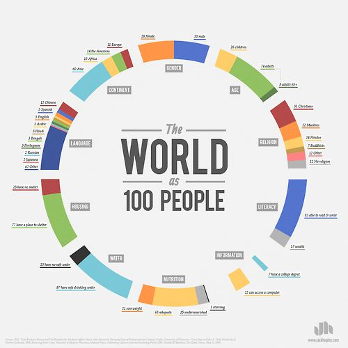 nevver: The World as 100 People [larger]