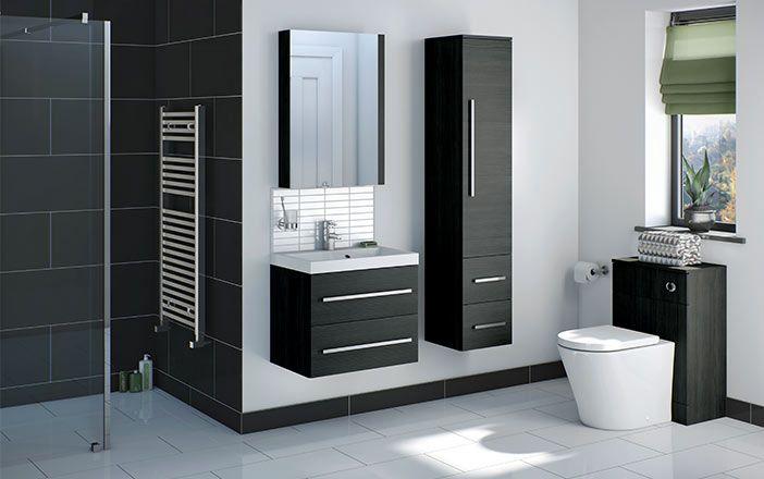 Drift Grey Bathroom Furniture : Victoria Plumb