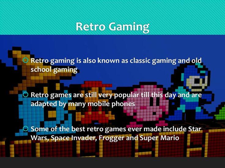 Retro Games are the Very Best Games! http://www.maverickgame.com