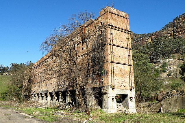 Abandoned Shale Mine, Glen Davis NSW