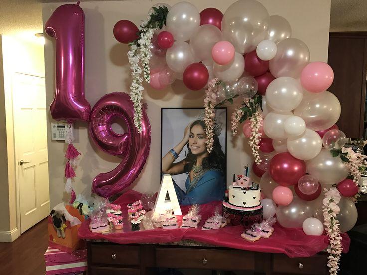 Organic Balloon Arch Birthday Party Balloon Decor