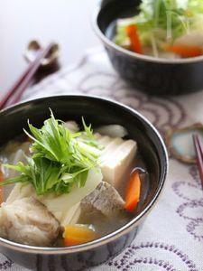 鱈と白菜のポカポカ中華スープ