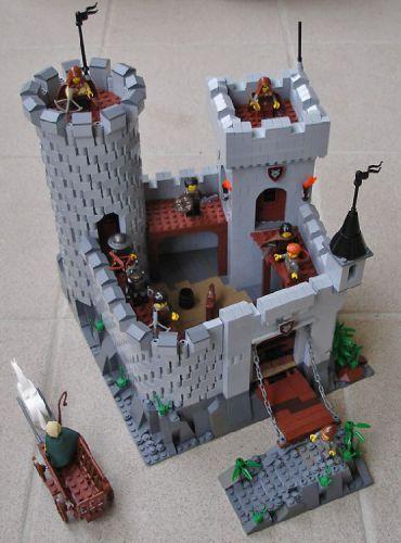 castle - round tower technique