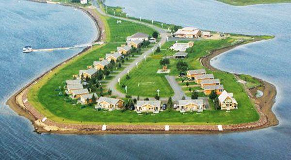 Les Chalets du Havre, Tourism New Brunswick, Canada