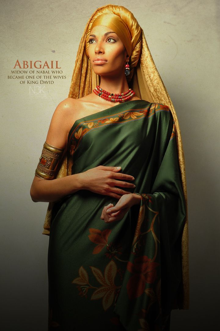 "ABIGAIL.  ///  ""Icons of the Bible"" by photographer James C. Lewis of Noire3000 / N3K Photo Studios"