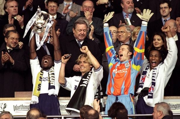 Worthington Cup, Old Wembley! Tottenham Hotspur v Leicester City, 1999... We only had 10 men!!
