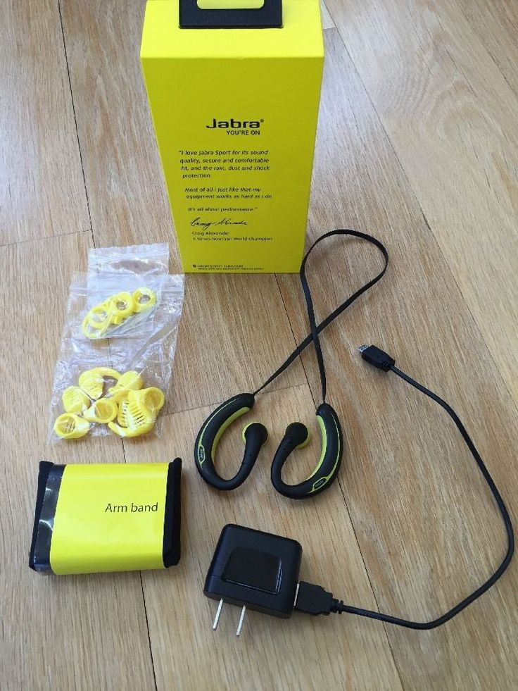 Jabra Bluetooth Headset Sports Plus Cordless Headphones  #Jabra