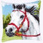 White Horse - Kruissteekkussen - Vervaco