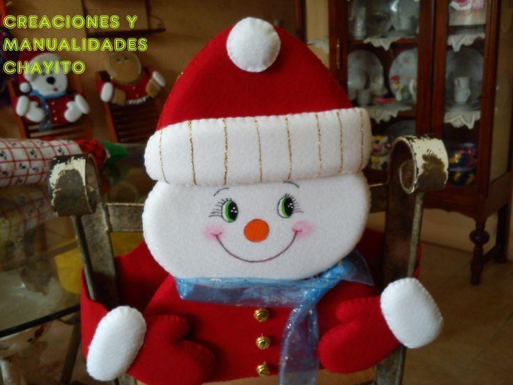 Moldes para forros de sillas navideños - Imagui | sillas bonitas ...