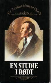 """""""En studie i rødt"""" av Sir Arthur Conan Doyle"""