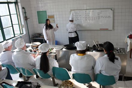 Theory cooking classes